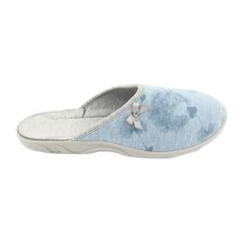 Niebieskie Befado kolorowe obuwie damskie 235D163