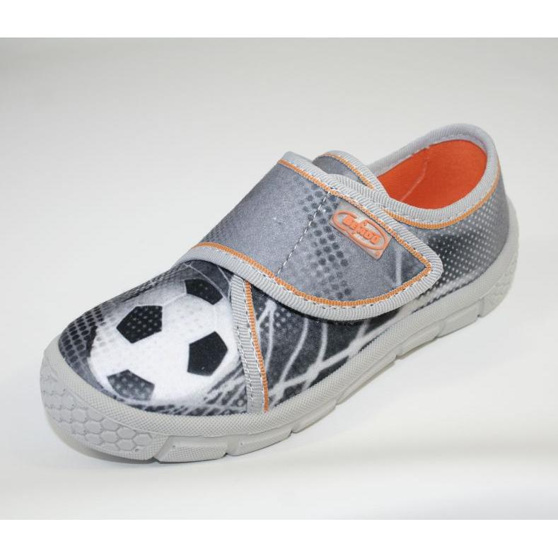 Befado obuwie dziecięce 557X038 białe szare