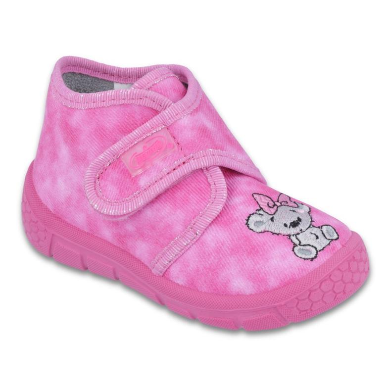 Befado obuwie dziecięce 529P063 różowe