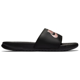 Czarne Klapki Nike Benassi Just Do It W 343881-007