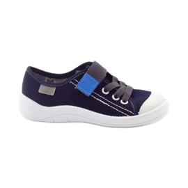 Granatowe Befado obuwie dziecięce 251X047