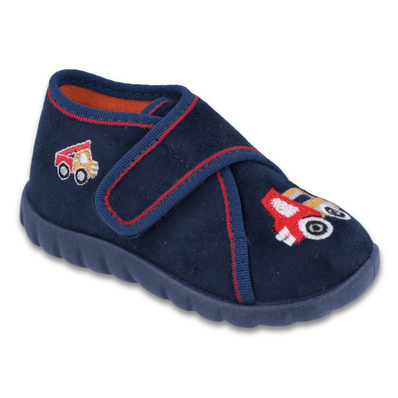 Befado obuwie dziecięce 455P084 granatowe