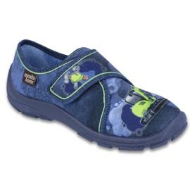Befado obuwie dziecięce 974X332 niebieskie