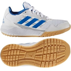 Buty adidas Alta Run Jr BA9426 białe