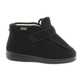 Czarne Befado obuwie  DR ORTO  987D002