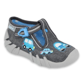 Befado szare obuwie dziecięce 110P341