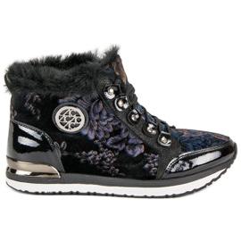 Aclys Modne Wiązane Sneakersy