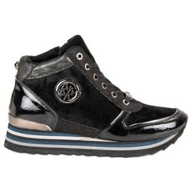 Aclys czarne Sneakersy