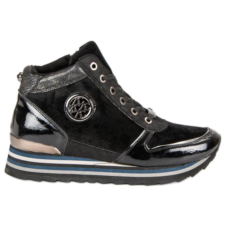 Aclys Sneakersy czarne