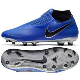 Buty piłkarskie Nike Phantom Vsn Academy niebieskie