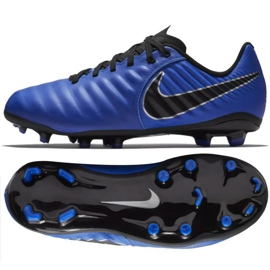 Buty piłkarskie Nike Tiempo Legend Academy niebieskie