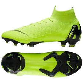 Buty piłkarskie Nike Mercurial Superfly 6 Elite Fg M AH7365-701 żółte żółte