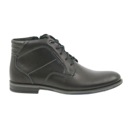 Riko buty męskie botki sztyblety 861 czarne