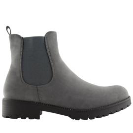 Sztyblety damskie szare SP16 Grey