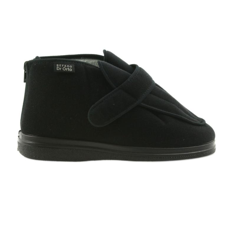 Befado obuwie męskie DR ORTO  987m002 czarne