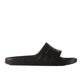 Czarne Klapki adidas Duramo Sleek S77991