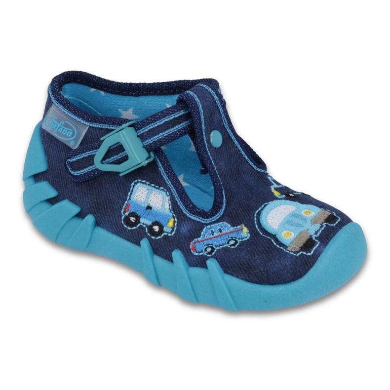 Befado szare obuwie dziecięce 110P342