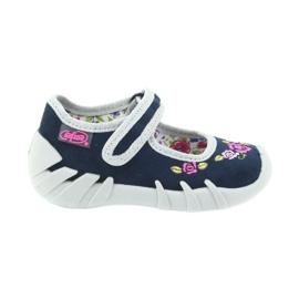 Befado buty dziecięce kapcie balerinki 109P170