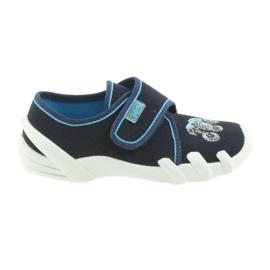 Granatowe Befado obuwie dziecięce 273X105