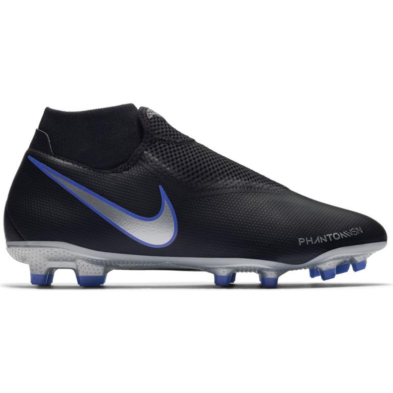 Buty piłkarskie Nike Phantom Vsn Academy Df M FG/MG AO3258-004 czarne wielokolorowe