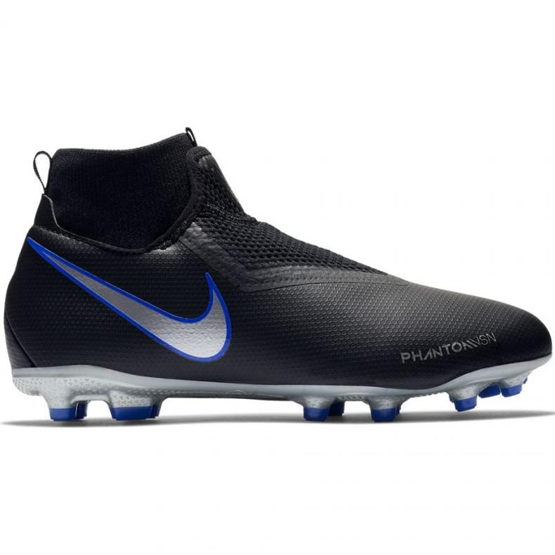 Buty piłkarskie Nike Phantom VSN Academy DF FG/MG Jr AO3287-004 czarne
