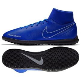 Buty piłkarskie Nike Phantom Vsn Club Df Tf M AO3273-400 niebieskie wielokolorowe