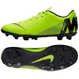 Buty piłkarskie Nike Mercurial Vapor 12 Club Mg M AH7378-701 zielone zielone