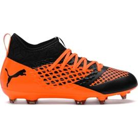 Buty piłkarskie Puma Future 2.3 Netfit Fg Ag Color Sh Jr 104836 02
