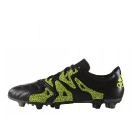 Buty piłkarskie adidas X 15.3 FG/AG Leather B26971 czarne czarne