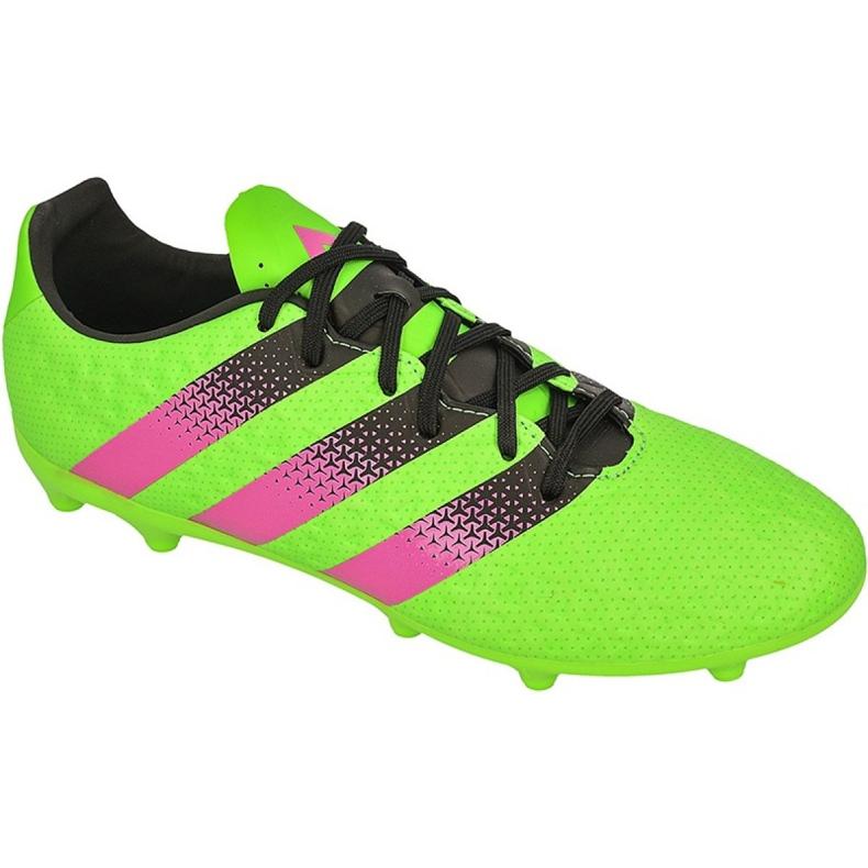 Buty piłkarskie adidas Ace 16.3 FG/AG M AF5145 zielone zielone
