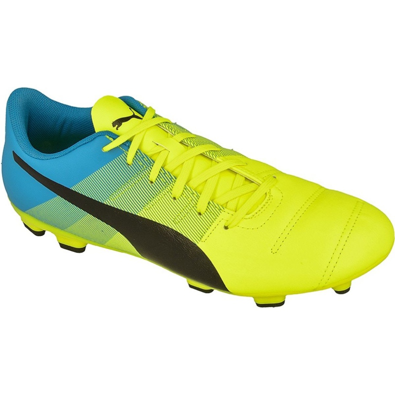 Buty piłkarskie Puma evoPOWER 4.3 Fg M 10353601 żółte żółte