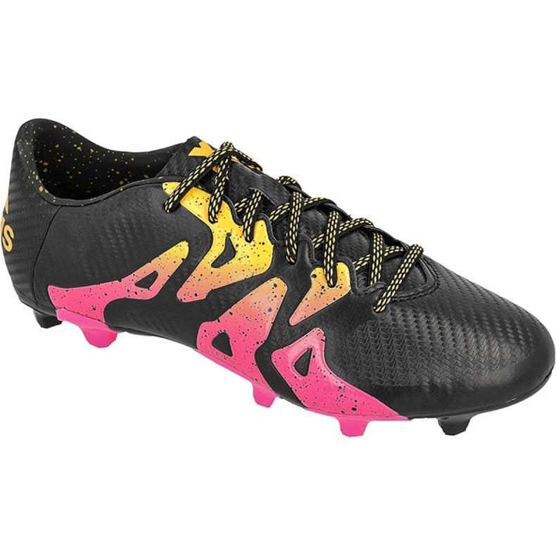 Buty piłkarskie adidas X 15.3 FG/AG M S74633 czarne czarne