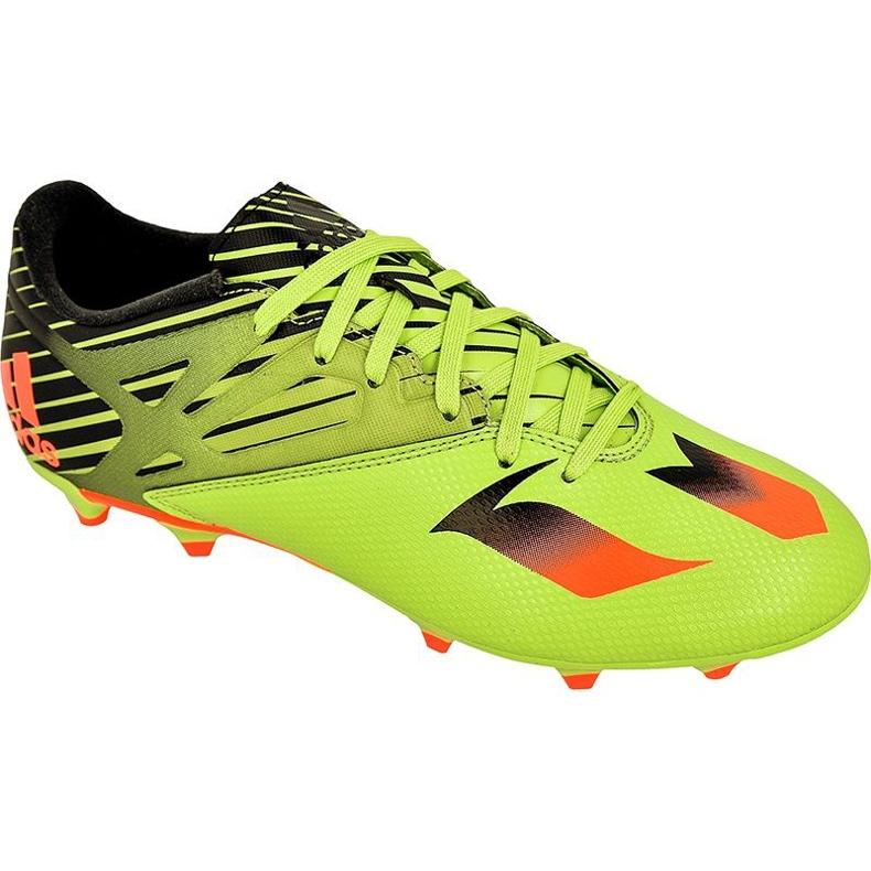 Buty piłkarskie adidas Messi 15.3 FG/AG M S74689 zielone