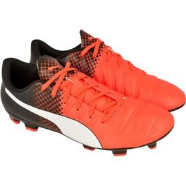 Buty piłkarskie Puma evoPOWER 4.3 Fg M 10358503 czerwone czerwone