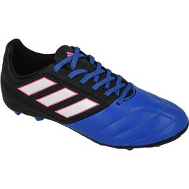 Buty piłkarskie adidas Ace 17.4 FxG Jr BB5592 czarne wielokolorowe