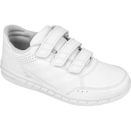 Białe Buty adidas AltaSport Cf Jr BA9524