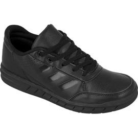 Czarne Buty adidas AltaSport K Jr BA9541