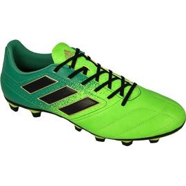 Buty piłkarskie adidas Ace 17.4 FxG M BB1051 zielone zielone