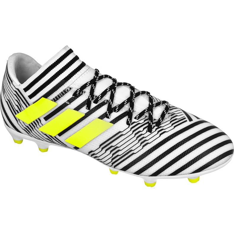 Buty piłkarskie adidas Nemeziz 17.3 Fg M S80599 wielokolorowe białe