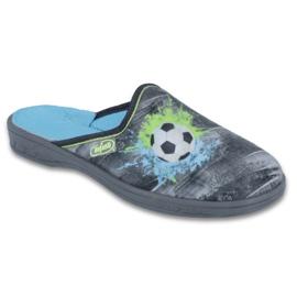 Befado kolorowe obuwie dziecięce     707Y395 szare wielokolorowe