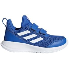 Niebieskie Buty adidas AltaRun Cf Jr CG6453