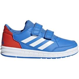 Buty adidas AltaSport Cf Jr D96825 niebieskie