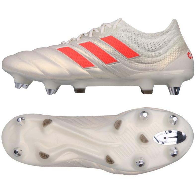 Buty piłkarskie adidas Copa 19.1 SG M F36075 srebrny