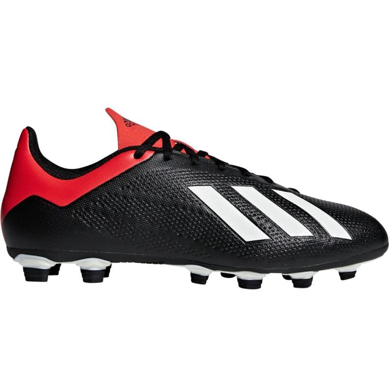 Buty piłkarskie adidas X 18.4 Fg M BB9375 czarne czarne