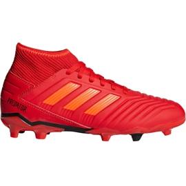 Buty piłkarskie adidas Predator 19.3 Fg Jr CM8534