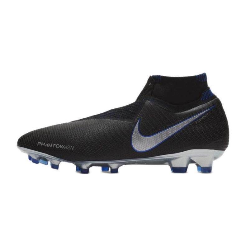Buty piłkarskie Nike Phantom Vsn Elite Df Fg M AO3262-004 czarne czarne