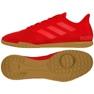 Buty halowe adidas Predator 19.4 In Sala M D97976 czerwony czerwone