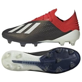 Buty piłkarskie adidas X 18.1 FG M BB9345 czarne