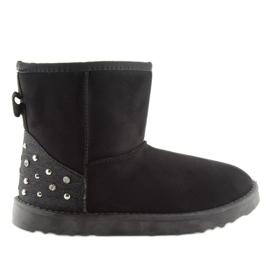 Śniegowce damskie czarne M297 Black