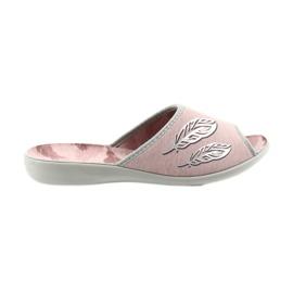 Befado buty damskie kapcie 254D098